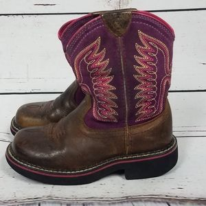 Ariat girls boots size 11